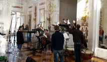 Recording at the Royal Łazienki